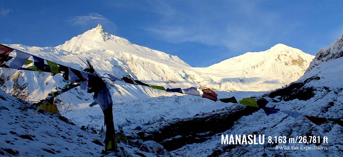 Manaslu climbing in Nepal