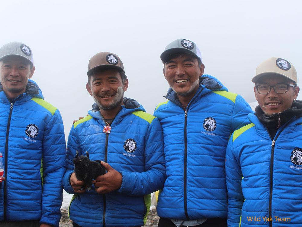 Expedition Manaslu in Nepal