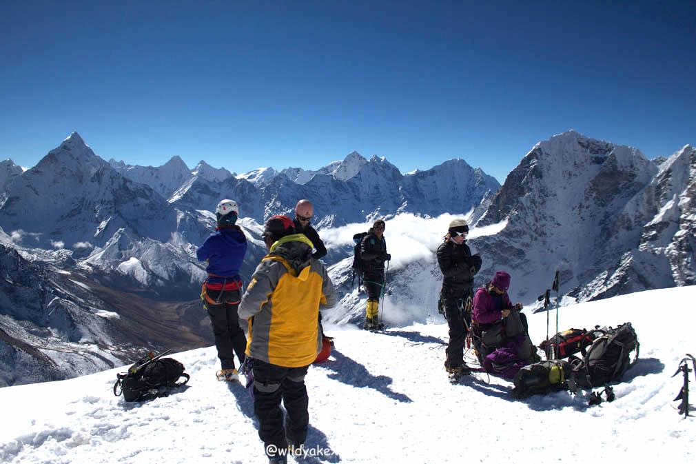 Lobuche peak 010