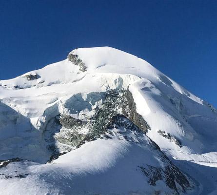 Allalinhorn climbing