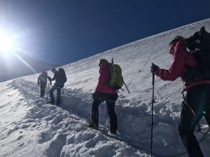 Allalinhorn with Wild Yak Expeditions