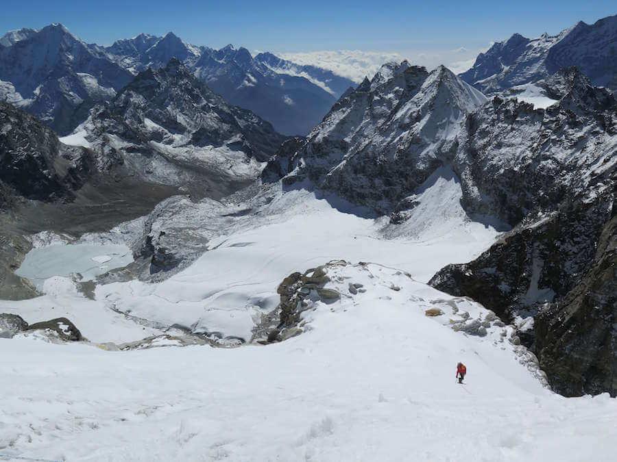 Kyajo Ri Peak Climbing